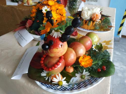 Выставка плодов и овощей 2018